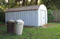 Brent Mill garden storage shed installation